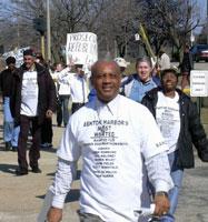 Benton  Harbor protest, March 11.