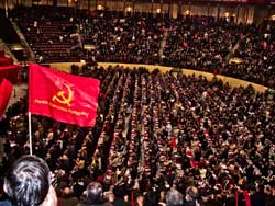 Communist delegates showed close<br>ties to working class. Lisbon, Dec. 1.
