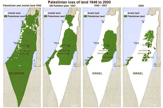 A Look At Obamas Statement On PalestineIsrael - Israel world map