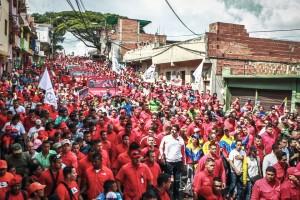 Masses fill streets in Caracas, Venezuela, on Jan. 23, Democracy Day.