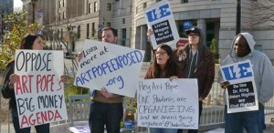 Jan. 5 protest.Photo: NC AFL-CIO