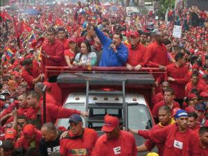 Chávez campaigning in Caracas, Venezuela, October 2012.Photo: Chavez Corazon Patria