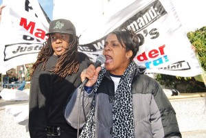 Jeralynn Blueford, Alan Blueford's mother , won't rest until her son's killer is prosecuted.WW photo: Sharon Black