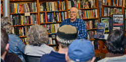 Fred Goldstein speaks on capitalism at a dead end.WW photo: Peter Cook