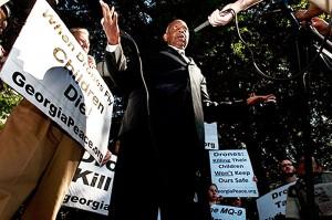Civil rights activist, Joe Beasley, May 28.Photo: Creative Loafing Atlanta