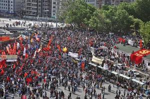 Istanbul, June 2. Photo: Communist Party of Turkey (KTP)