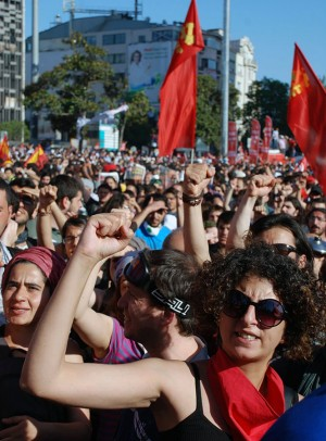 Istanbul, June 2. Photo: Communist Party of Turkey (KTP)