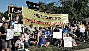 Slamming the Koch brothers in Topeka.WW photo