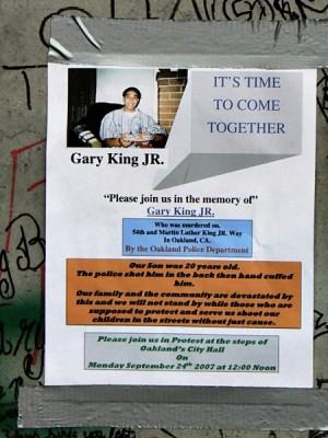 Gary King mural.
