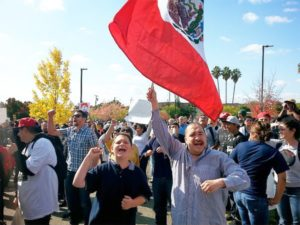 Santa Rosa demonstration Oct. 29 demands justice for Andy Lopez.WW photo: Terri Kay