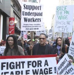 New York City rally on Oct. 24.