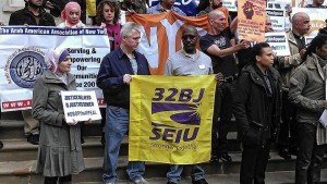 New York City Hall protest, Nov. 6.WW photo: Greg Butterfield