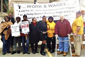 Providence, R.I.: For jobs and a $15 dollar minimum.Photo: Mary Kay Harris