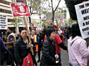 March 27 protest.WW photo: Terri Kay