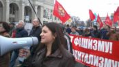 Marchers in Odessa defy threats, demand a referendum on autonomy and an end to political repression, March 23.Photo: Borotba