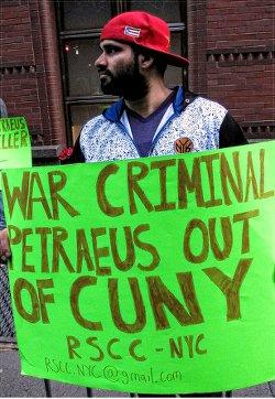 Petraeus a war criminal