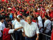 FMLN president sworn in