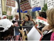 Syrians rally in NYC