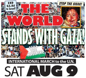 The world stands with Gaza