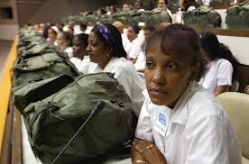 In 2005, 1,586 Cuban doctors wait, ready to assist Hurricane Katrina survivors.