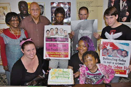 Baltimore's Cuban 5 party