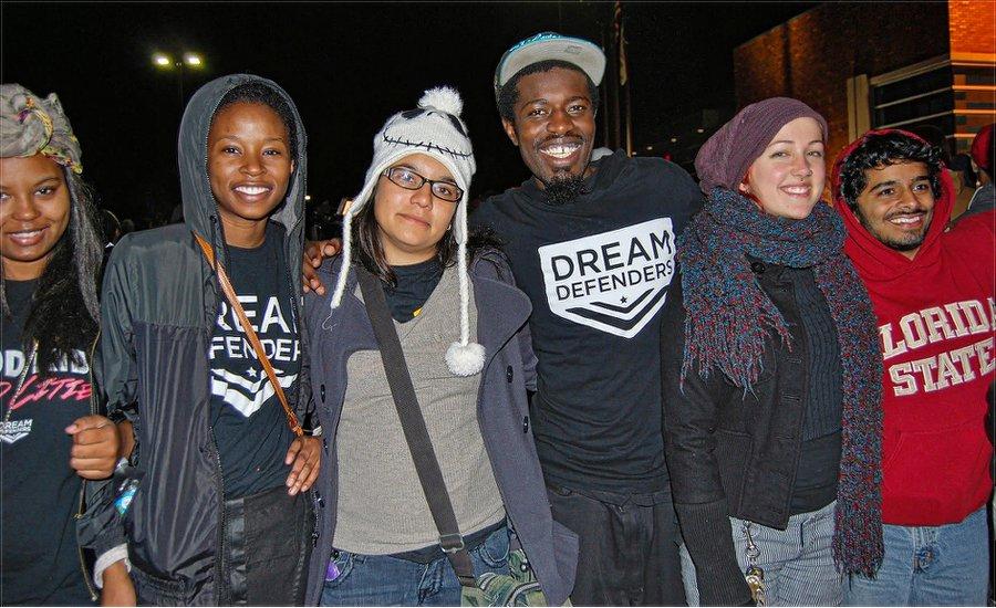 Dream Defenders traveled from Florida. WW photo: Sharon Black