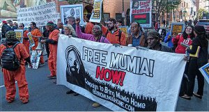 Free Mumia Now, Oct. 21.WW photo: Joseph Piette