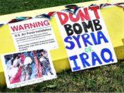 Don't Bomb Syria or Iraq