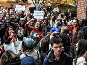 'Education is a right, not just for the rich and white,' say student activists at Syracuse U.