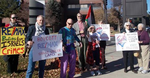 Denver protest in solidarity with Palestine