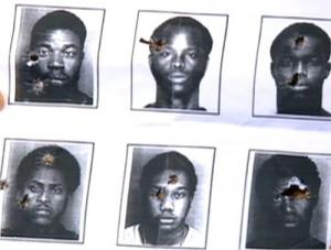 Racist cops target Black men.