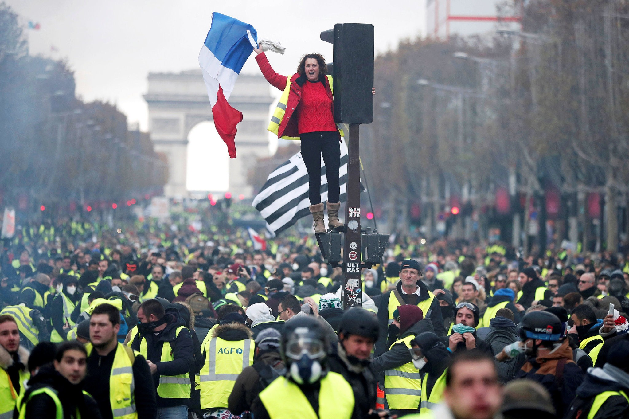 french gilets jaunes protests