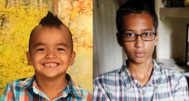 Jakobe Sanden and Ahmed Mohamed