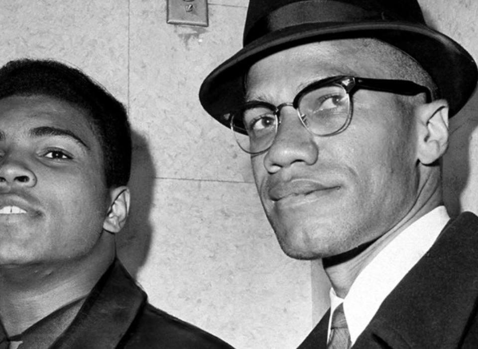 Ali and Malcolm X