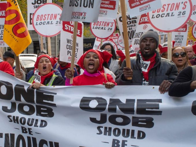 Striking Boston hotel workers stay strong – Workers World
