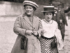 Clara Zetkin (left) with Rosa Luxemburg in 1910.