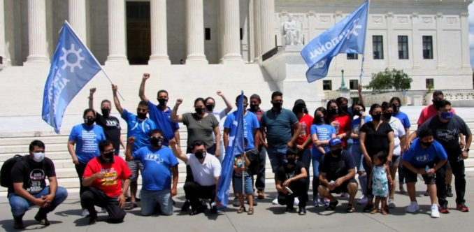 On the Road to Justice with im/migrant TPS holders