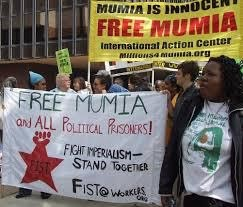 FIST at Philadelphia Mumia action in 2007.