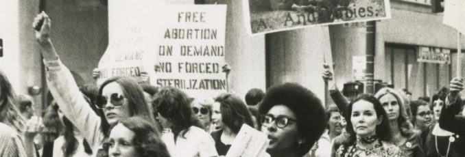 Women Strike for Equality Day, Aug. 26, 1970, New York City. Women of Youth Against War and Fascism, including Sue Davis, were in the march.