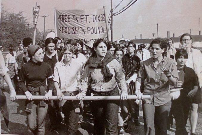 Oct. 12, 1969: Women-led march invaded Fort Dix to free rebellious troops