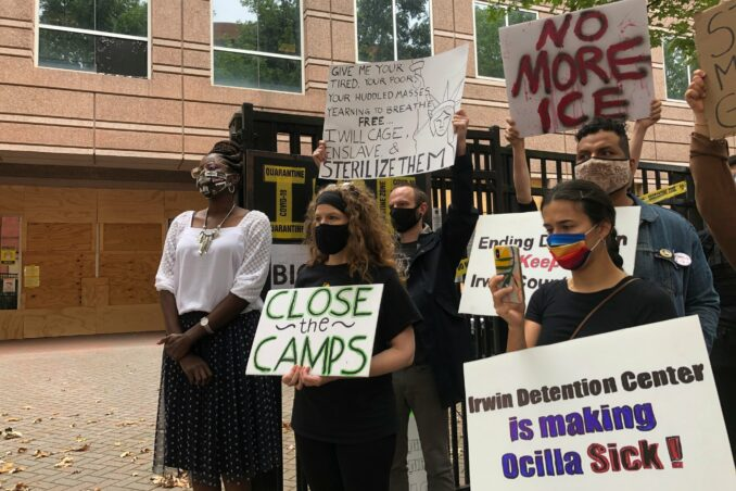 ICE abuses detainees