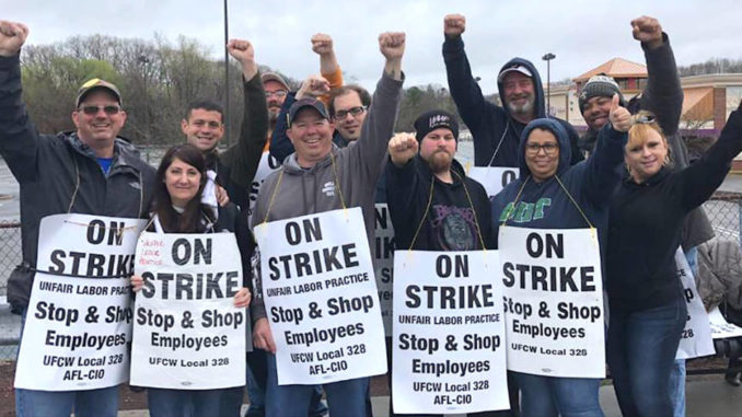 Is stop and shop still on strike today