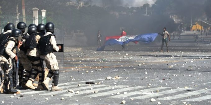 Haiti: Mass protests demand president resign, U.S. butt out