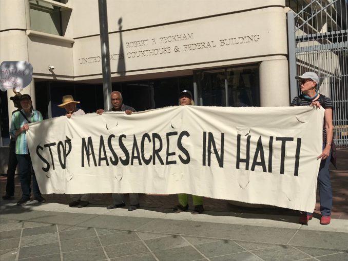 Stop the U.S.-backed massacres in Haiti!