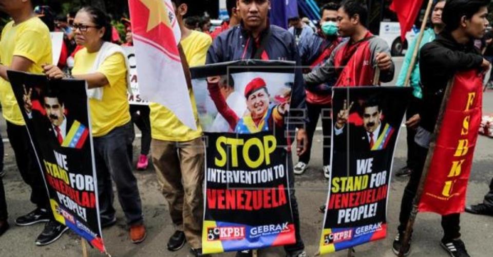 Indonesia protest @ U.S. consulate Feb 12