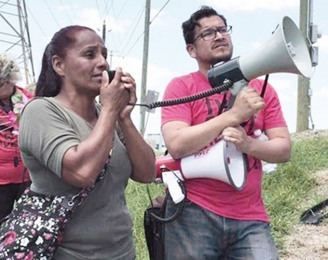 Janie Torres and Orlando Lara.