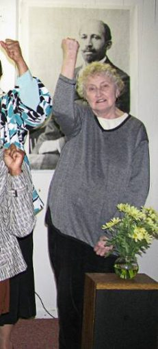 Lee Booth, March 14, 2009, Detroit International Working Women's celebration.