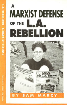 Book Cover: A Marxist Defense of the L.A. Rebellion
