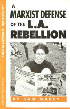 Book Cover: A Marxist Defense of the L.A. Rebellion