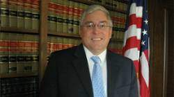 A criminal at work. West Virginia Attorney General Patrick Morrisey.